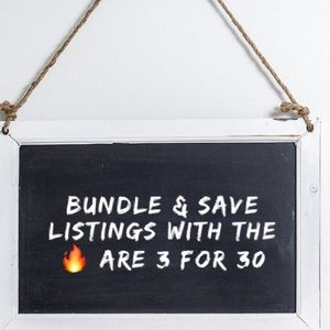 Other - 🔥Bundle & Save